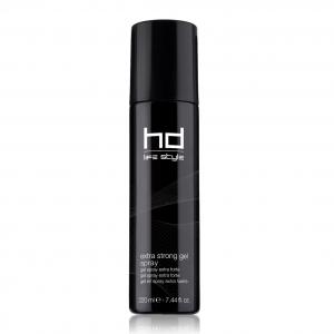 hd extra strong gel spray