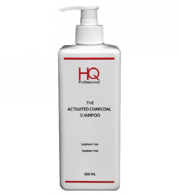 hq charcoal shampoo